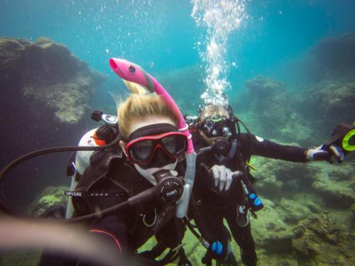 Scuba Diving in Oahu, Hawaii